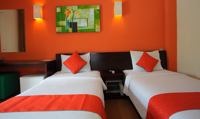 Enjoy Your Fun Times At Spazzio Hotel The Budget Hotel In Kuta Bali
